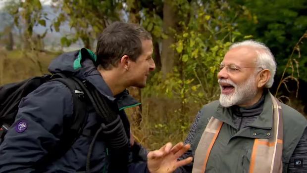 Bear Grylls, Dubbed, Prime Minister, Narendra Modi, Man vs Wild, NewsMobile, Mobile, News, India, Fact Check, Fact Checker, Fake