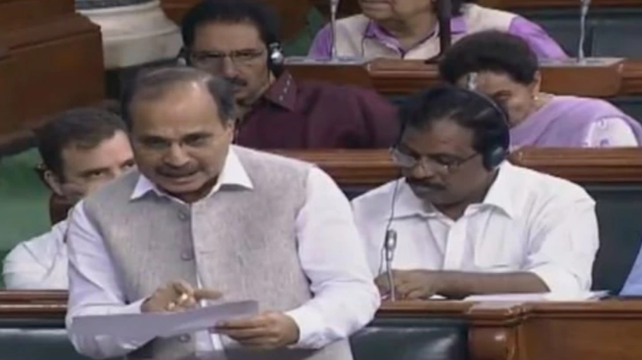 Adhir Ranjan's blunder embarrasses Cong in LS, says 'Article 370 not an internal issue'