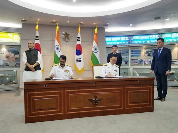 India, South Korea, Defence Minister Rajnath Singh