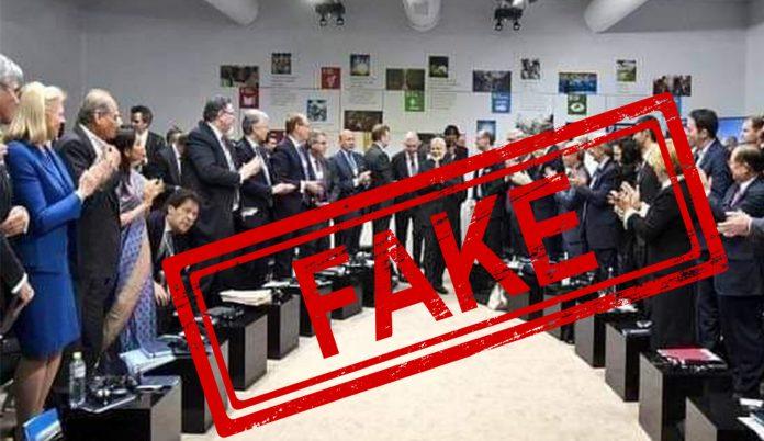 Prime Minister, Narendra Modi, Imran Khan, G7, Davos, NewsMobile, Mobile, News, India, Fact Check, Fact Checker, FAKE, News