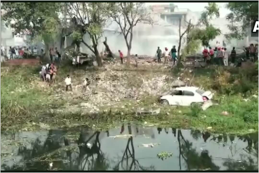 Punjab, Gurdaspur, Batala, Fire, Explosion, NewsMobile, NewsMobile India