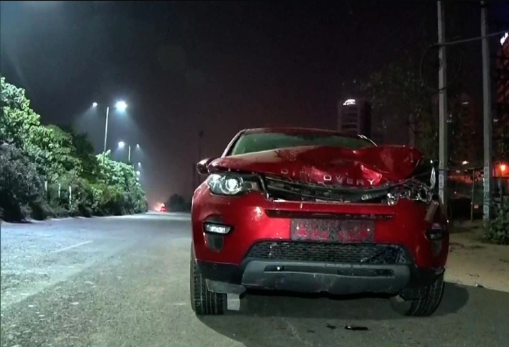 Range Rover, Gurugram, Hit and Run, Haryana, India, Cityscape