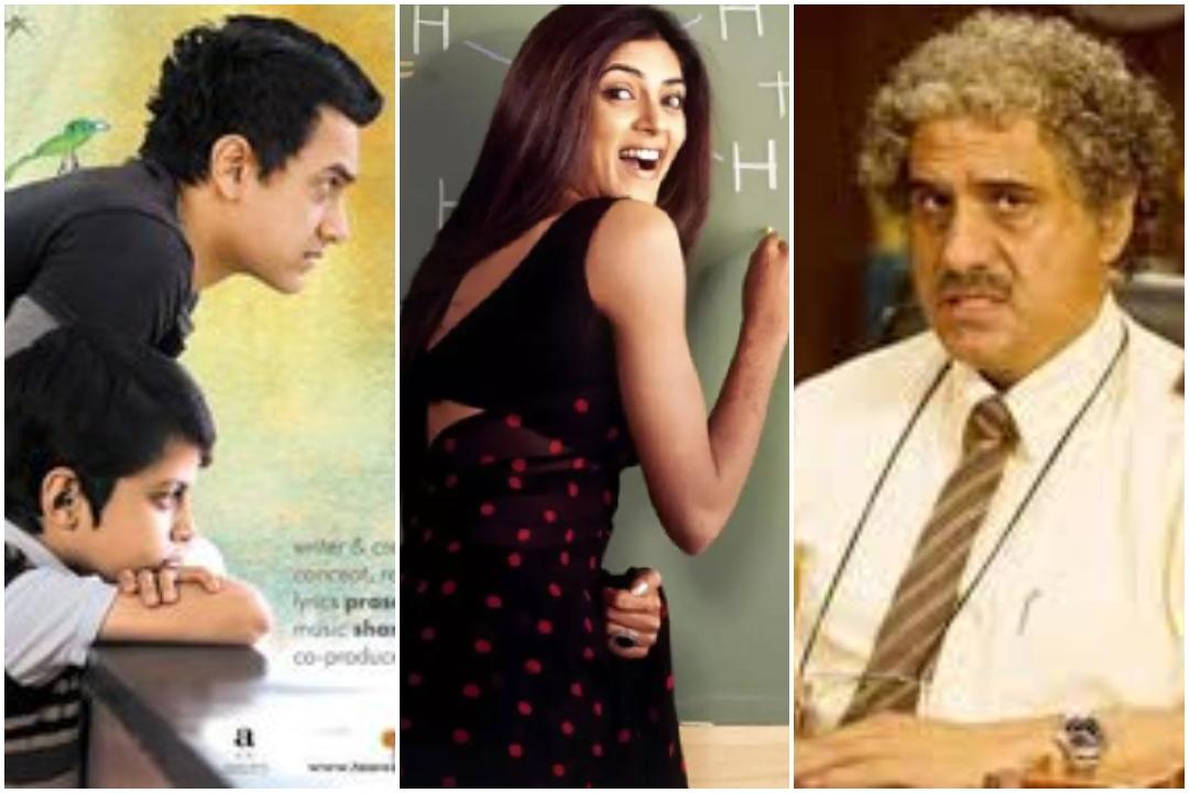 Bollywood, Teachers Day, Teachers Day 2019, Main Hoon Na, 3 Idiots, Taare Zameen Par, Sushmita Sen, Aamir Khan, Boman Irani, NewsMobile, NewsMobile India