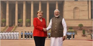 PM Narendra Modi, German Chancellor Angela Merkel, NewsMobile, NewsMobile India