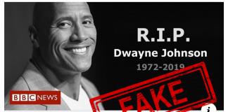 Dwayne Johsnon, The Rock, Viral, Fake, News, NewsMobile, NewsMobile India