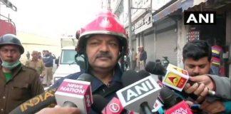 Delhi, Delhi Fire, Delhi Police, NewsMobile, Anaj Mandi, Rani Jhasi Rd,