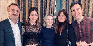 Emma Watson, Tom Felton, Evanna Lynch, Bonnie Wright, Matt Lewis, Christmas, Harry Potter, NewsMobile, NewsMobile India