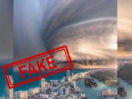 Hurricane, Digital Artwork, Fake, Viral, Viral News, Fact Check, NewsMobile