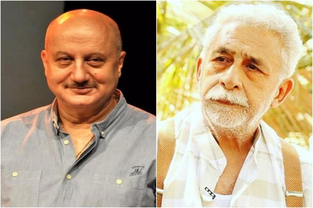 Anupam Kher, Naseeruddin Shah, NewsMobie, JNU Violence, Film, Backlash