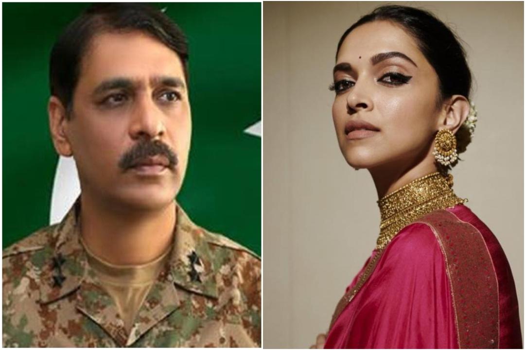 Pakistan Army spokesperson Major General Asif Ghafoor, Deepika Padukone, JNU Voilence, NewsMobile, NewsMobile India