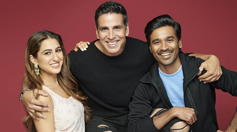 Sara Ali Khan, Akshay Kumar and Dhanush in director Aanand L. Rai, NewsMobile, NewsMobile India