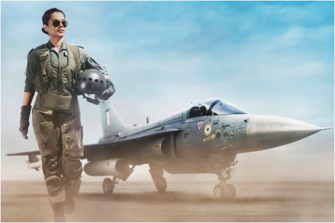 Tejas, Kangana Ranaut, NewsMobile, NewsMobile India, Bollywood, Indian Air Force