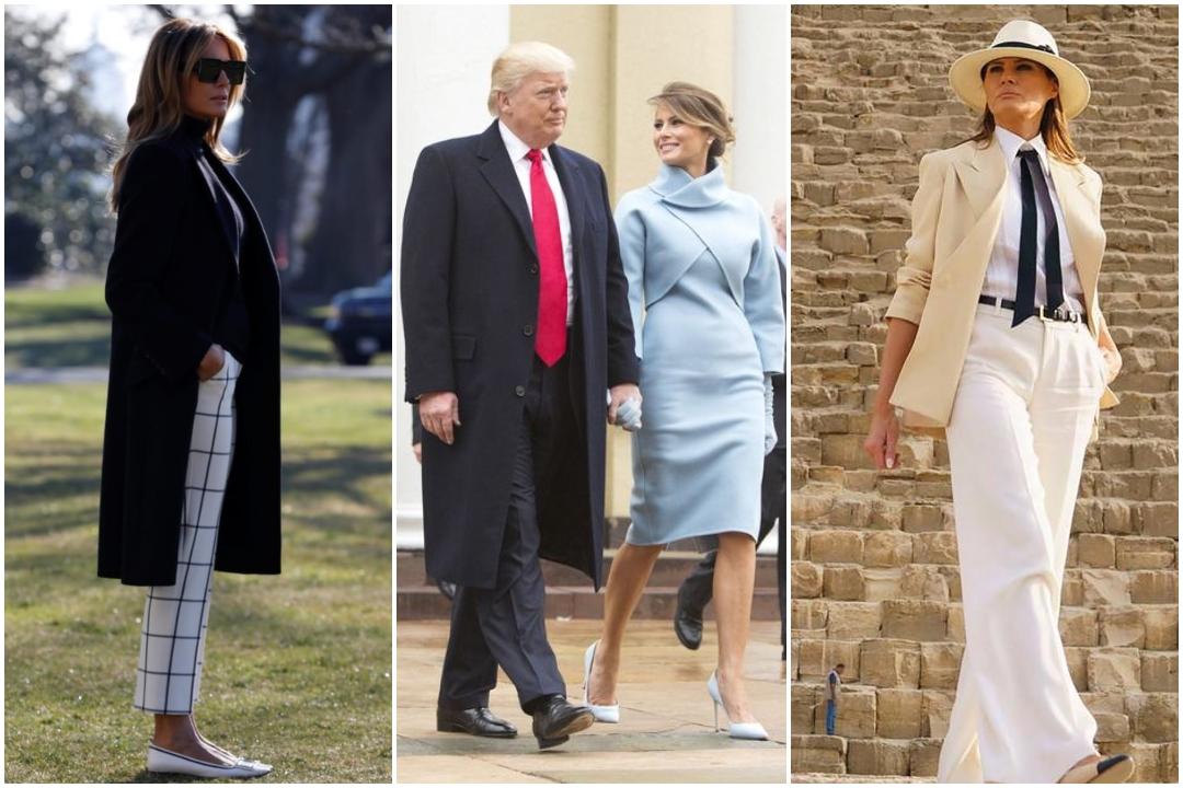 US First Lady, Melania Trump, Wardrobe, NewsMobile, NewsMobile India