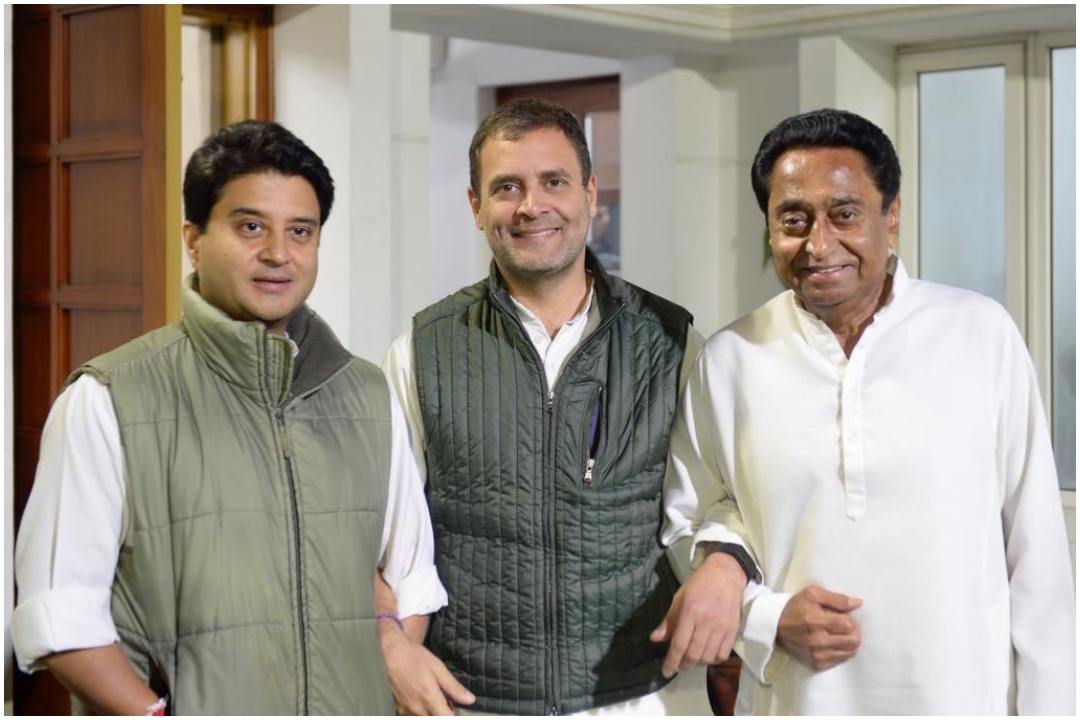 Rahul Gandhi, Jyotiraditya Scindia, MP Political Congress, News Mobile, NewsMobile India