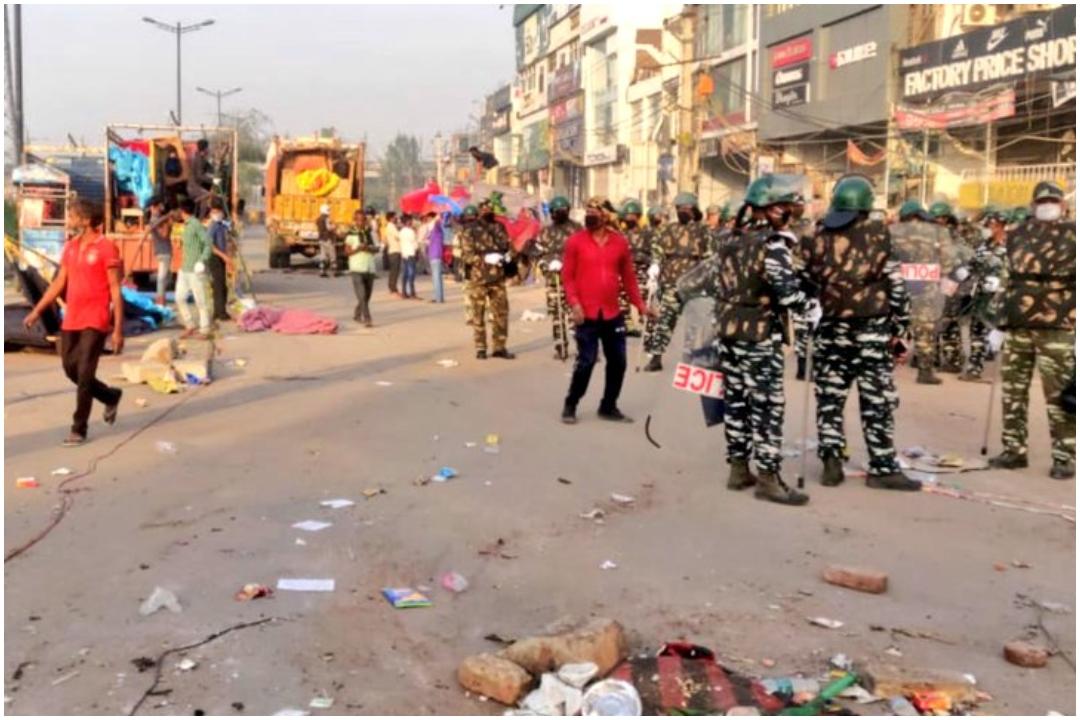 Shaheen bagh, Delhi Police, NewsMobile, NewsMobile India, COVID, Coronavirus