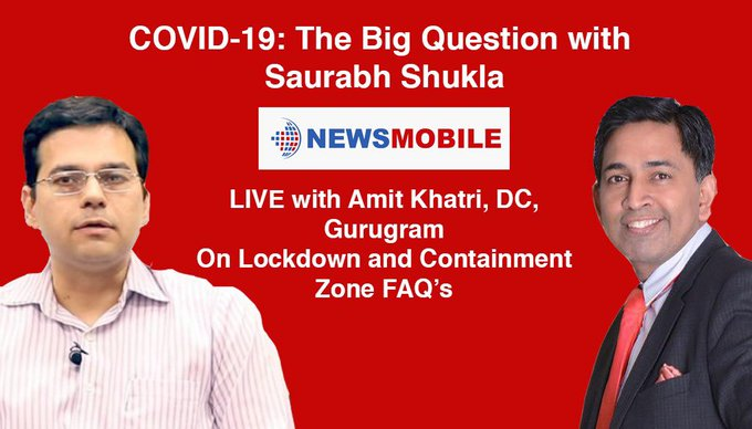 Saurabh Shukla, Amit Khatri, DC, Gurugram, NewsMobile, NewsMobile India