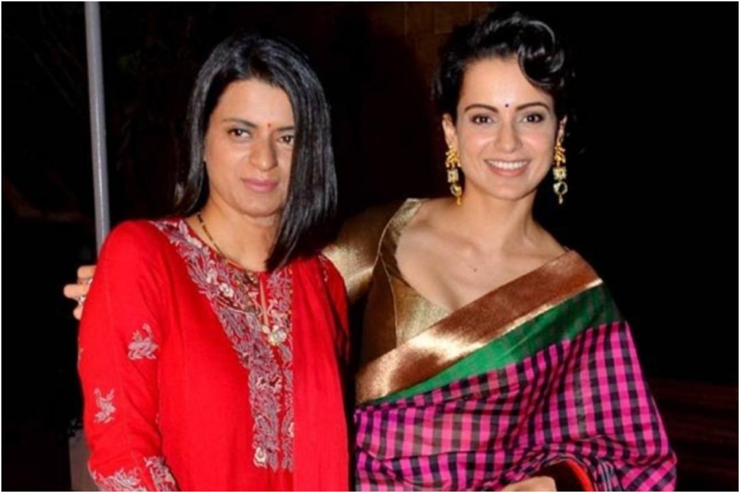 Kangana Ranaut and her sister Rangoli Chandel