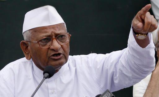 Anna Hazare, indefinite, hunger strike, Politics, NewsMobile, Mobile News, India