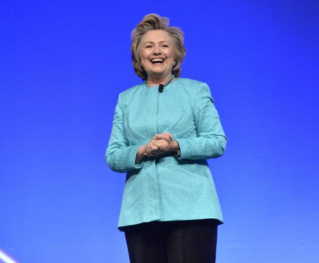 Hillary Clinton, presidential candidate, Democratic, 9/11 memorial ceremony