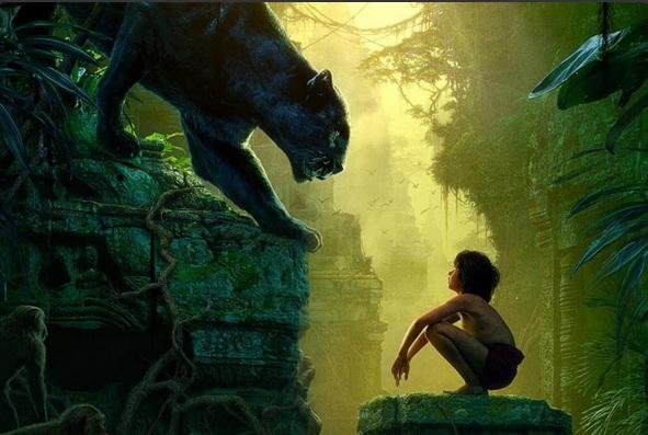 Jungle Book, childhood, Mowgli, Bagheera