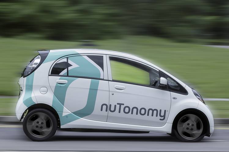 Self-driving, taxis , Singapore, nuTonomy