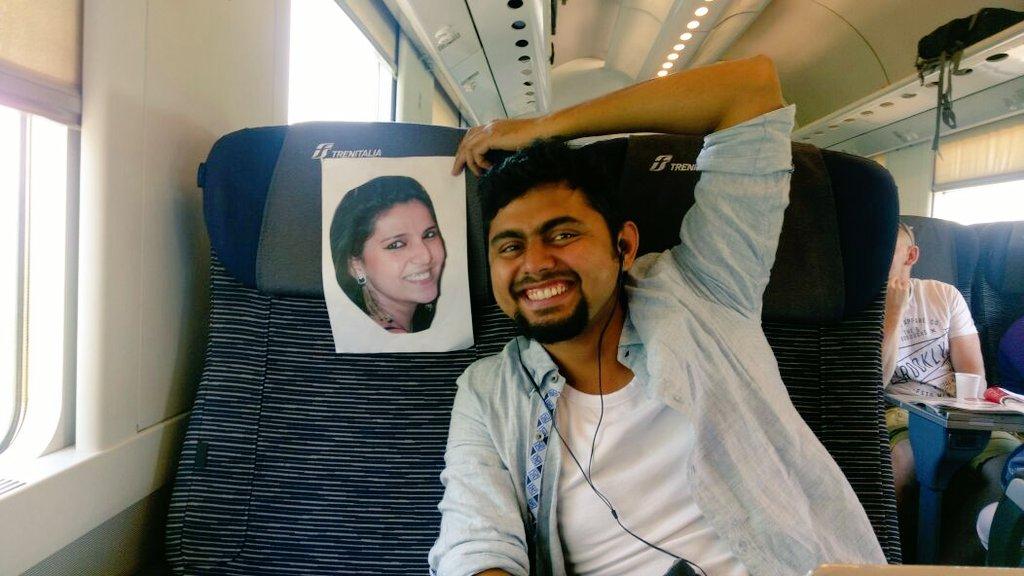Honeymoon, MEA, Sushma Swaraj, Twitter, Couple, Italy