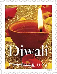 Indians, US , Diwali Postage Stamp