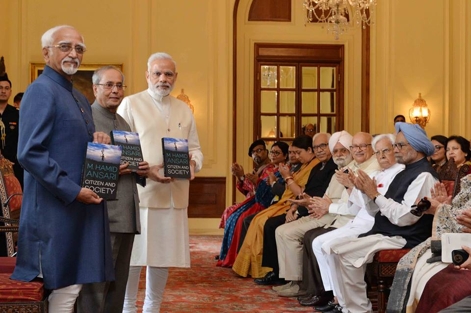 Friday, Vice President, Mohammad Hamid Ansari, President, Rashtrapati Bhavan, Prime Minister, Narendra Modi