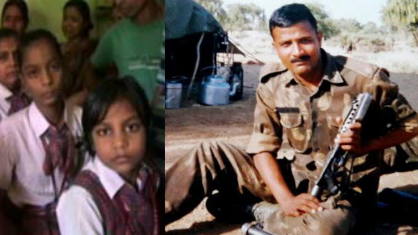 Arti, Anshu , Anshika, daughters, Uri attacks, nation, Gaya, Sunil Kumar Vidyarthi