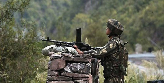 Poonch district, 120 mm mortars, befitting reply , Kathua Sector, International Border, Pakistani troops, Jammu region, BSF, 15 Pakistani, cross- border shelling,