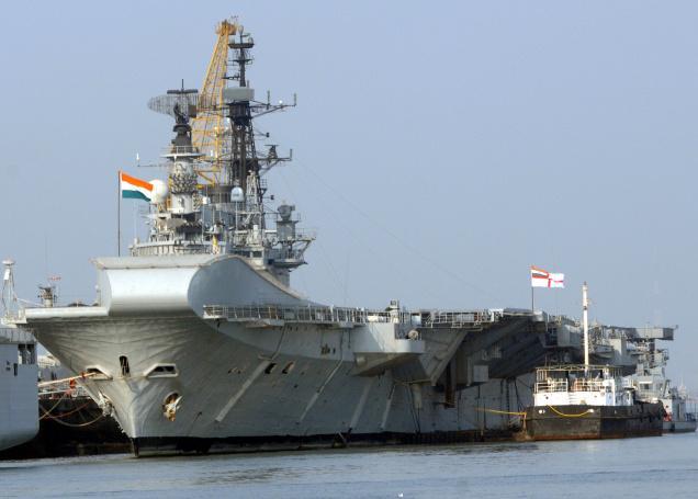 Andhra Pradesh government, Royal Navy, Ernakulam Wharf, Nadkarni , Navy officials , INS Viraat, aircraft carrier,