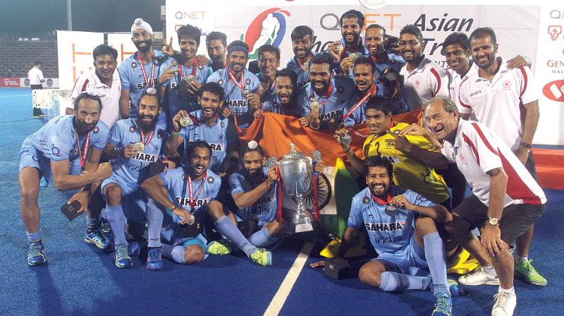 Incheon, South Korea, India, Pakistan, 3-2, Asian Champions Trophy