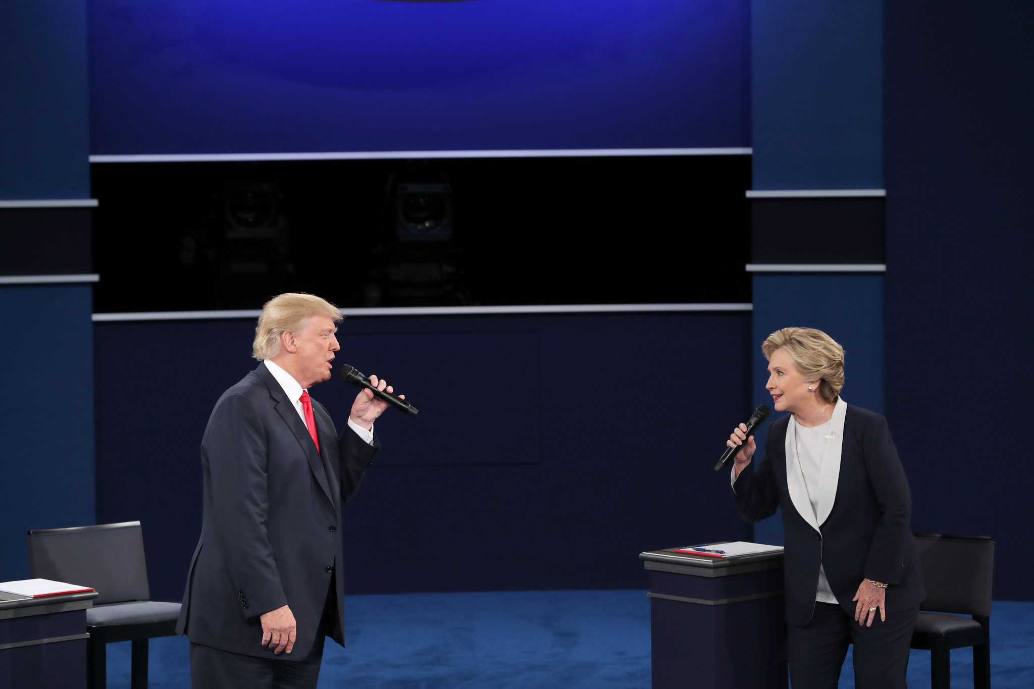 Republican, Presidential Candidate, Donald Trump, Democratic, Hillary Clinton, Libertarian Gary Johnson,