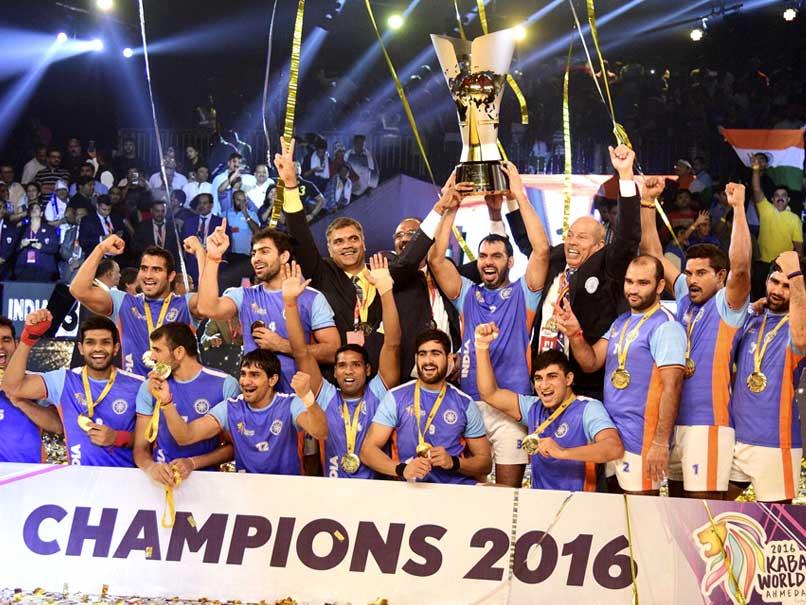 Pardeep Narwal, Meraj Sheykh, Iran, Ajay Thakur, world champions, 2016 Kabaddi World Cup,