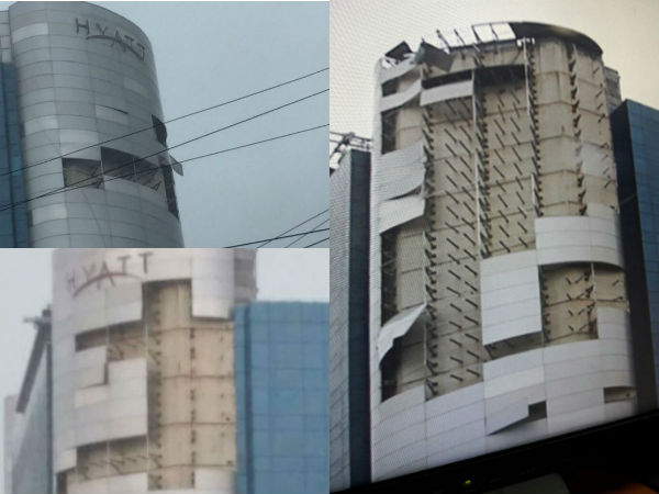 Chennai, Vardah, Cyclone, Hyatt,