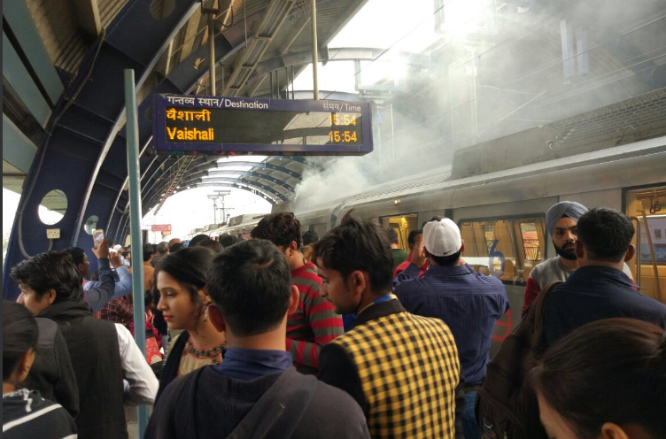 Patel Nagar, Metro Station, Delhi Metro, fire, Vaishali, Dwarka