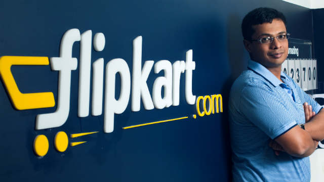 Binny Bansal, Group Chief Executive Officer, Kalyan Krishnamurthy, CEO, Sachin Bansal, Flipkart