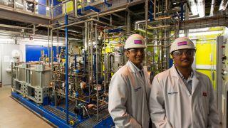 niruddha Sharma and Prateek BumbX Carbon Clean SolutionsX Carbon Clean Solutions built a plant in TuticorinX Paris climate agreement.