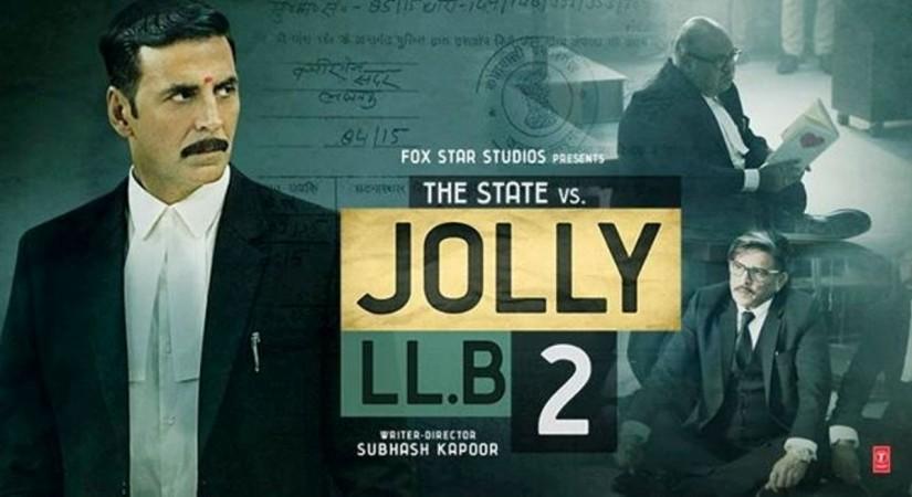 "Fox Star StudiosX Akshay Kumar's ""Jolly LLB2""X AkshayX Huma QureshiX Saurabh Shukla and Annu Kapoor"