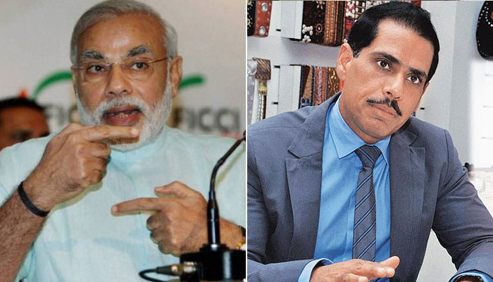 robert vadra, pm Modi, Congress, BJP, Chowkidaar, NewsMobile, India