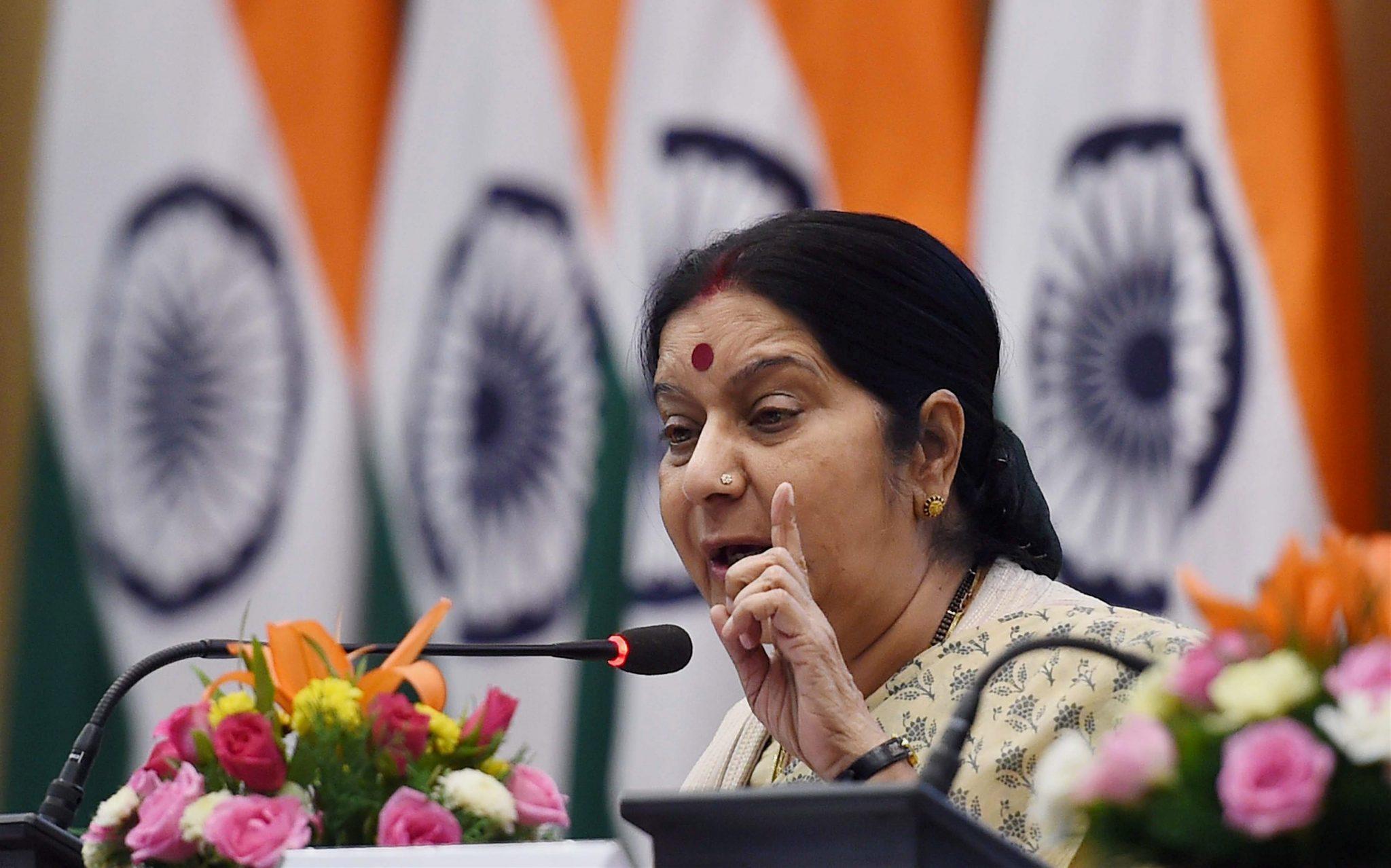 Terror, talks, Pakistan, bilateral, Sushma Swaraj, Minister of External Affairs, EAM, NewsMobile, Mobile news, India