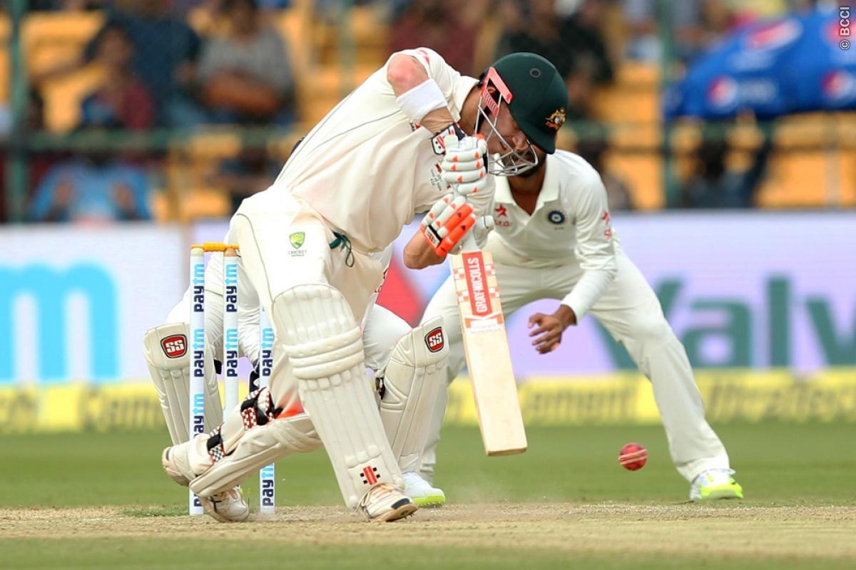 Bengaluru, KL Rahul, India, 72, two wickets, Australia, India, Virat Kohli, Steve Smith