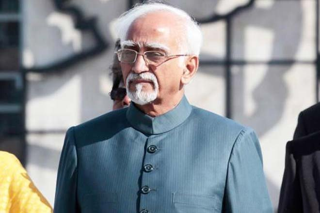 Vice-president, Hamid Ansari, Muslims