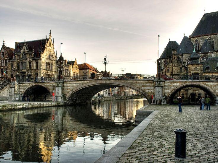 vibrant city of Ghent., Belgium, - Veggie Ghent: