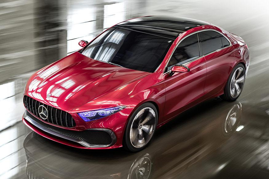 Mercedes, 2017 Auto Shanghai, Concept A, auto news, newsmobile, new car