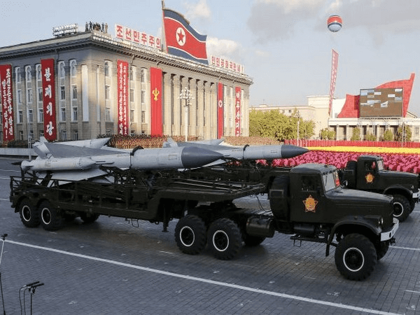 Kim Il-sung, North Korea, Nuclear test, military hysteria, military parade, Day of the sun, US President, Donald Trump,