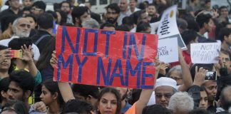 NotInMyName, protest,