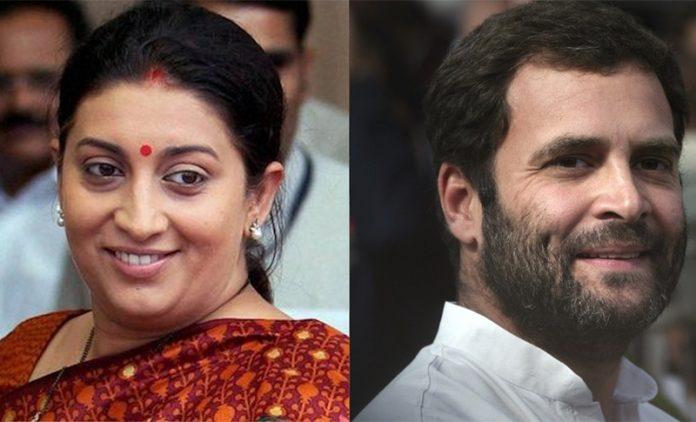 Smriti Irani, Congress, vice-president, Rahul Gandhi, Rohith Vemula,
