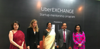 Uber, UberEXCHANGE, Mentoring program, T-Hub, Telengana, Start-up, Incubator, Global Entrepreneurship Summit, Hyderabad, San Francisco HQ of Uber, India, Anytimeloan, carenGrow, Docturnal, Preva Systems, Gayam motors, eKincare, AlgoSurg, Imaginate software, JioVio Healthcare, Gray Routes,