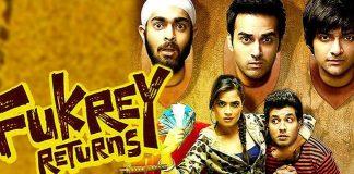 Fukrey Returns, Fukrey, Bollywood, Movie, Pulkit Samrat , Varun Sharma , Manjot Singh and Ali Faizal, Richa Chaddha, Pankaj Tripathi